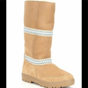 UGG Sundance Revival Tasman Braid Tall Boots